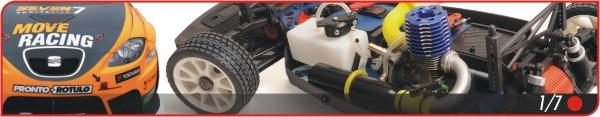 Tienda de coches radio control gasolina a escala 1/7
