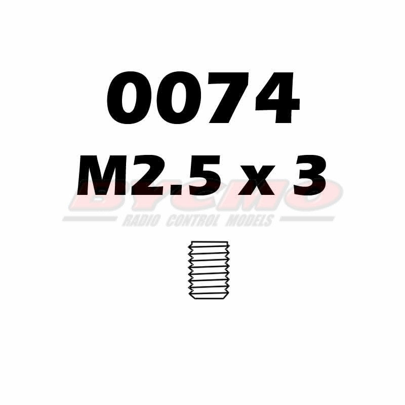 ESPARRAGO ALLEN M2,5X3 (12ud.)