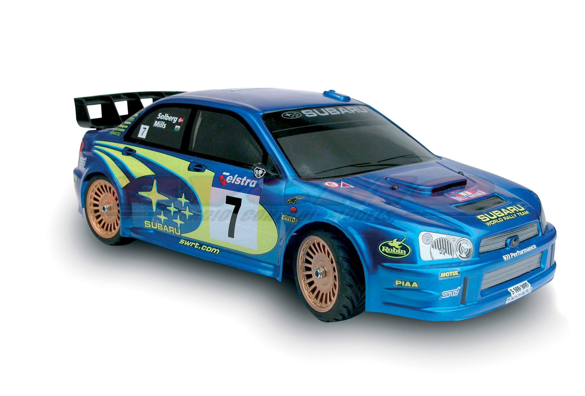 SUBARU WRC 2003 4WD 1/10 TERMICO STICKS    REF 100253 EN KIT