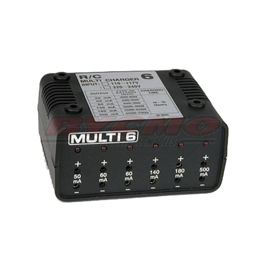 MULTICARGADOR MULTI-6 (1ud.)