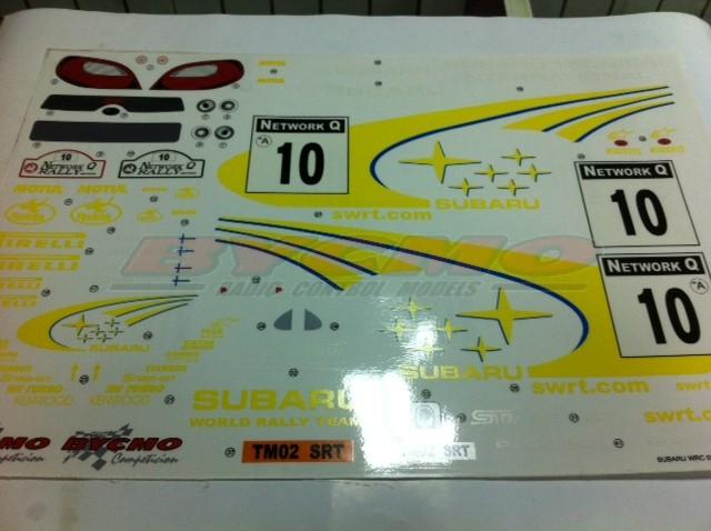 DECORACION SUBARU WRC 2002 (NEW) (1ud.)