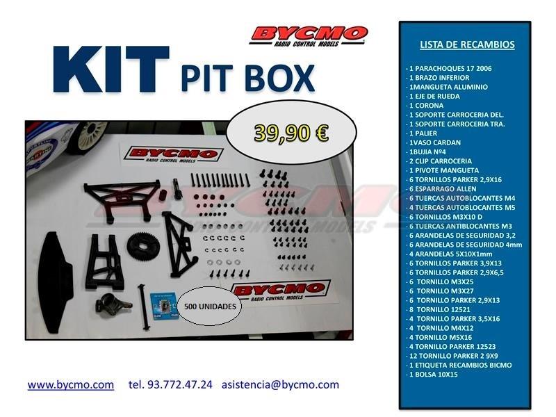 KIT PIT BOX REF(K6000)