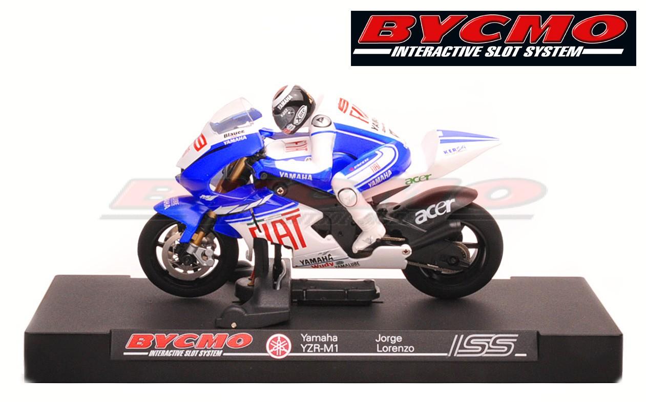 MOTO BYCSLOT YAMAHA FIAT TEAM LORENZO 08 (SIN MANDO)