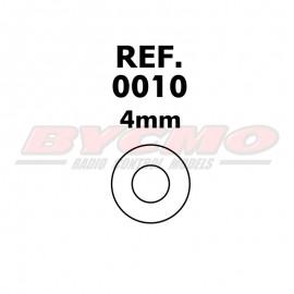 ARANDELA 4mm. (12u) [RF.0010]