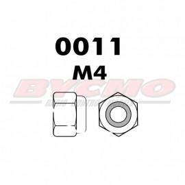 TUERCA AUTOBLOCANTE M4 (12ud.)