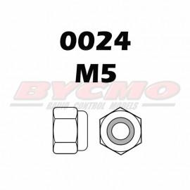 TUERCA AUTOBLOCANTE M5 (12ud.)
