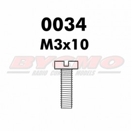 TORNILLO M3x10 D.7985 (12ud.)
