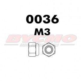 TUERCA AUTOBLOCANTE M3 (12u) [RF.0036]