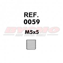 ESPARRAGO ALLEN M5x5 D. 913 (12u) [RF.0059]