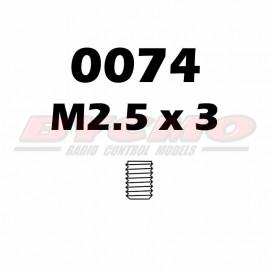 ESPARRAGO ALLEN M2,5X3 (12u) [RF.0074]