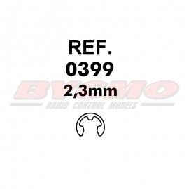 ARANDELA DE SEGURIDAD 2,3mm. (6u) [RF.0399]