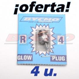 ¡SUPER PRECIO! Pack de 4 bujia del nº 4 [RF. OF010]