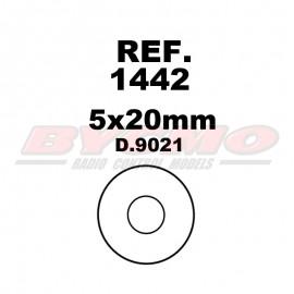 ARANDELA 5x20 D.9021 (12ud.)