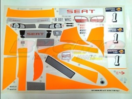 DECORACION SEAT CORDOBA EVO3 (1u) 2 hojas ref 1480