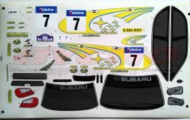 DECORACIÓN SUBARU WRC 03 1/10 T. (1u. 1 HOJA)