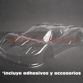 CONJUNTO CARROCERIA GT-2008 1/7 (TRANSPARENTE)
