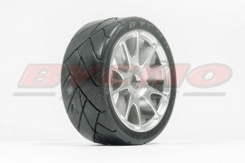 RUEDA R. RUN SPEED PRO 10P CROMADA 1/7-1/8 DIAM.12 (2u) [REF.2093]