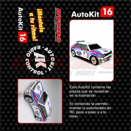 AutoKit 1/7 N.17 LANCIA INTEGRALE