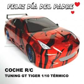 OFERTA COCHE RC TUNING GT TIGER 4WD 1/10 TÉRMICO