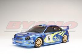 CARROCERIA SUBARU WRC 2002 1/10 (1u)