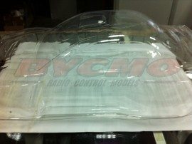 CONJUNTO CARROCERIA SUBARU WRC 2002 1/7 (NEW) (TRANSPARENTE) (1ud.)