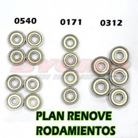 Nuevo Plan Renove pack rodamientos para Serie Seven  1/7 [OF. 008]
