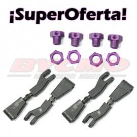 ¡Superoferta! Hexagonos Pro Al.(4u.) + brazo sup.+ Inversora (4u) [RF.OF007]