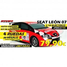 OFERTA COCHE RC SEAT LEON '07 2WD RTR 1/10
