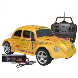COCHE RC VW BEETLE ELECTRICO 2WD AMARILLO RTR 1/10